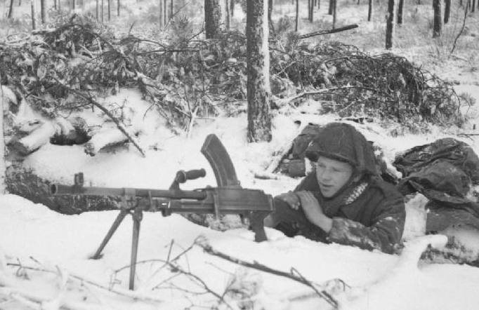 bren light machine gun quartermaster section